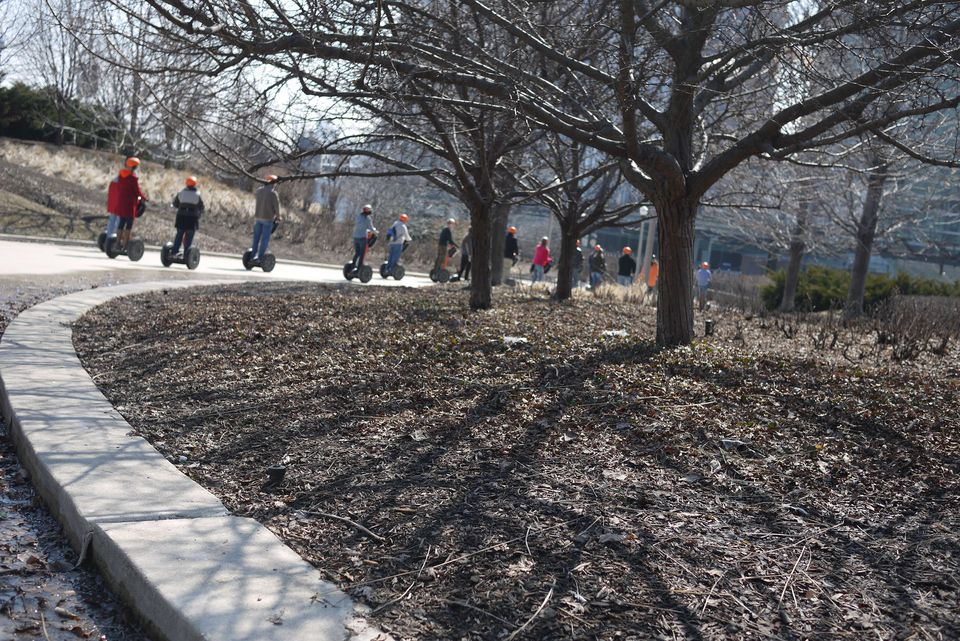 Segway Tour of Grant Park, Chicago, Illinois