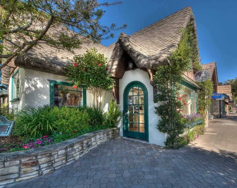 Fairy house in Carmel, California