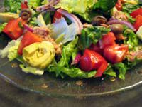 Spanish Mixed Green Salad - Ensalada Mixta (c)