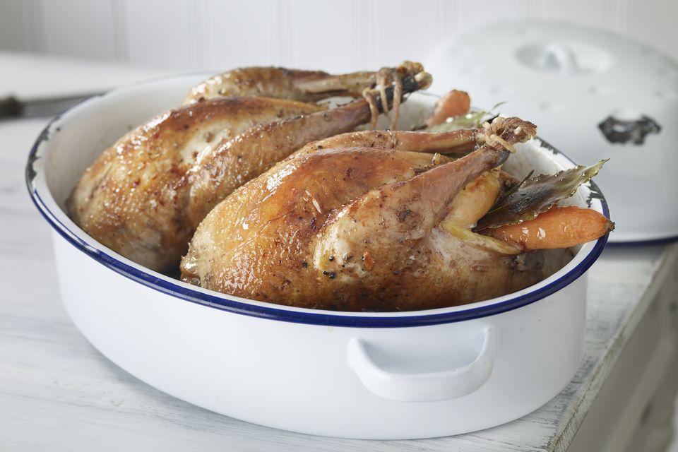 roast pheasants