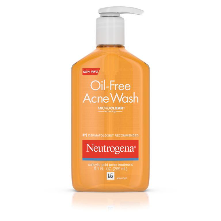 Neutrogena Oil-Free Salicylic Acid Acne Fighting Face Wash