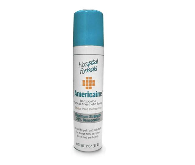 Hospital Formula Americaine Hemorrhoid Aerosol Can Spray