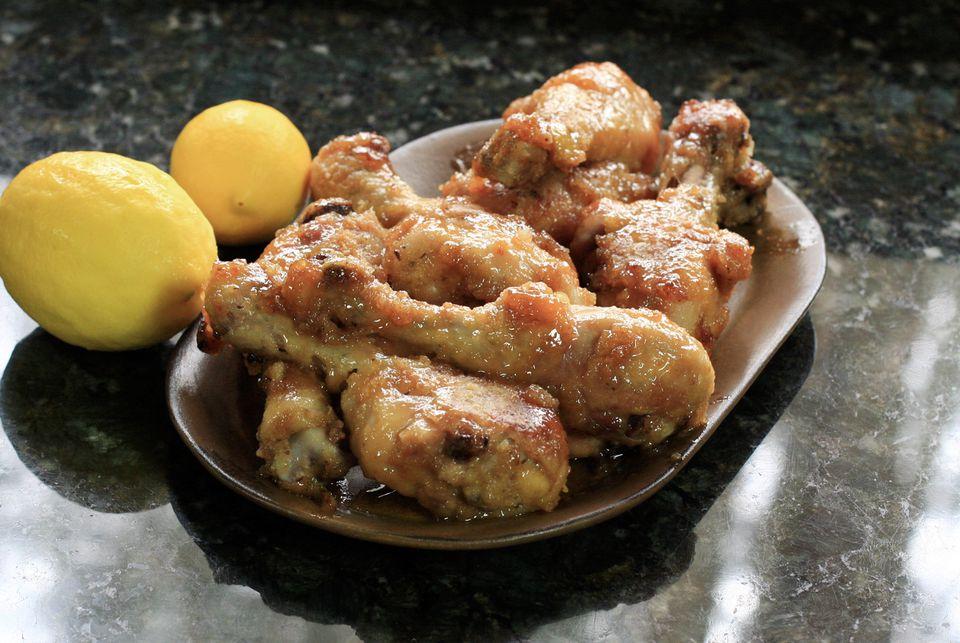 Honey Baked Chicken Legs