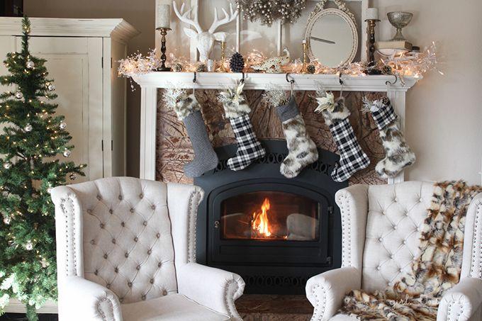 Homemade Flannel Stockings