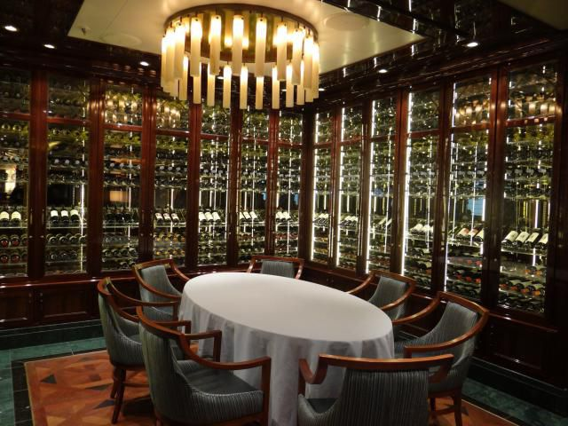 Wine Maker's Dinner Setting on the Regal Princess