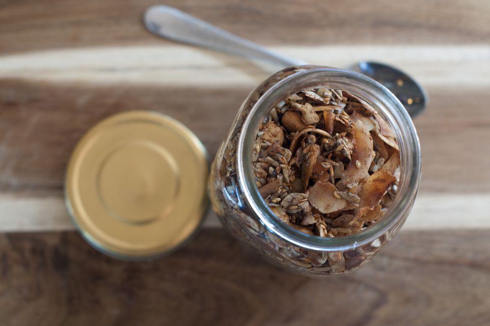 Granola in a Jar