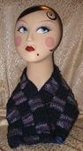 Easy Checkered Neck Warmer Pattern to Crochet