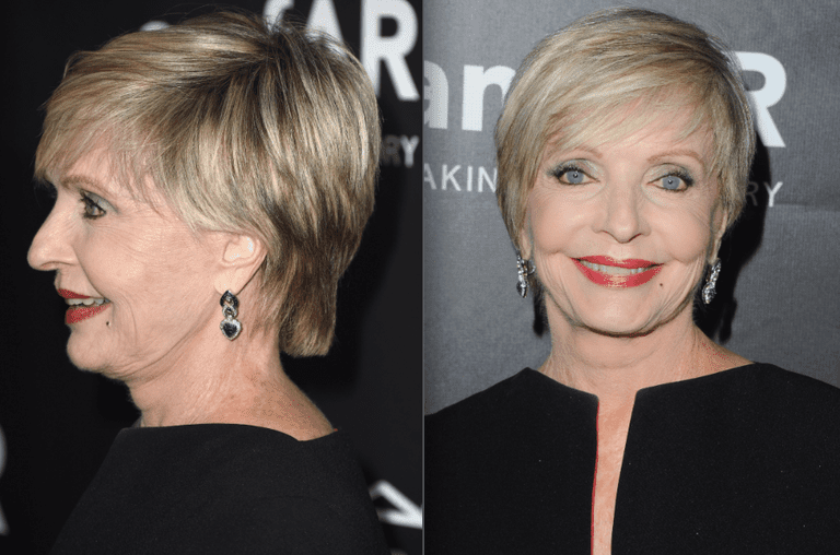 florence henderson short blonde hair