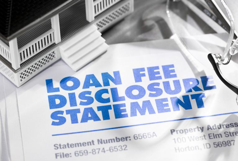 Loan Fee Discloosure