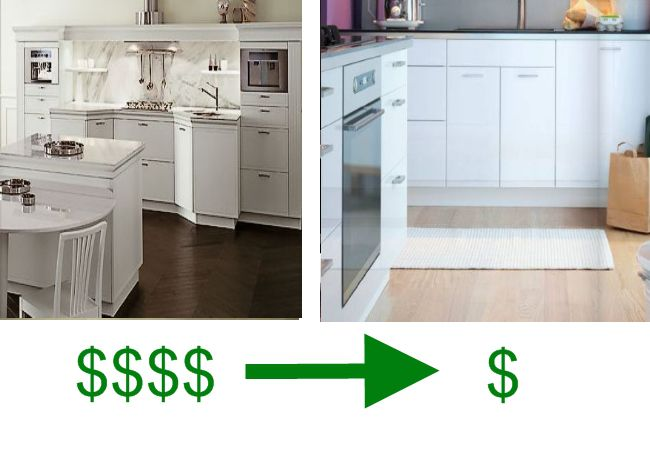 European kitchen cabinets snaidero vs ikea for Snaidero kitchen