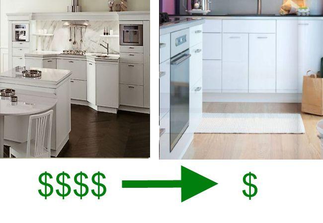 european kitchen cabinets snaidero vs ikea. Black Bedroom Furniture Sets. Home Design Ideas