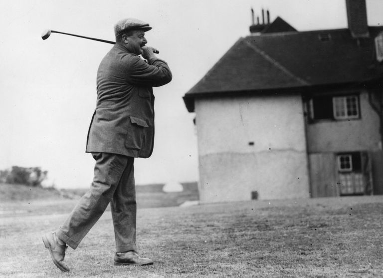 Arnaud Massy, winner of the Open Championship in 1907
