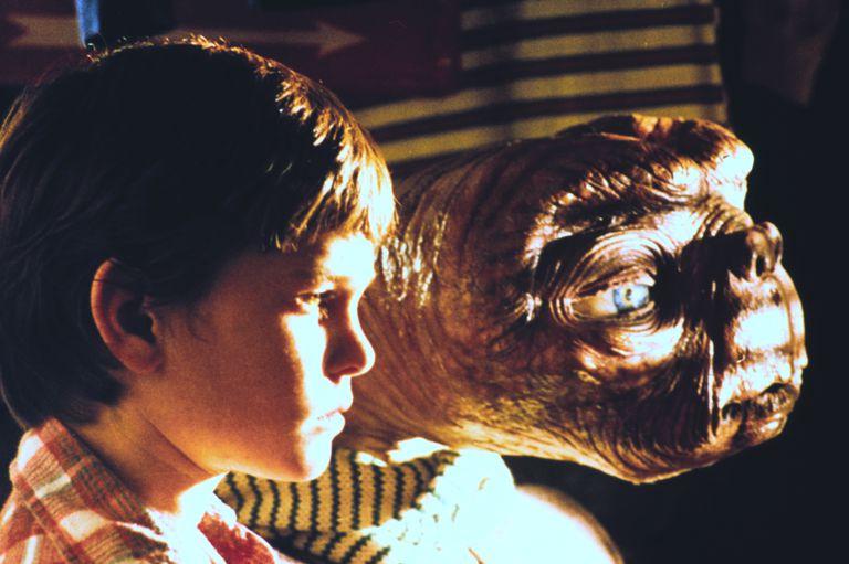 E.T. and Elliott