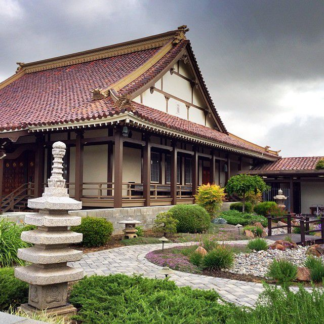 The Buddhist Temple in Japantown San Jose