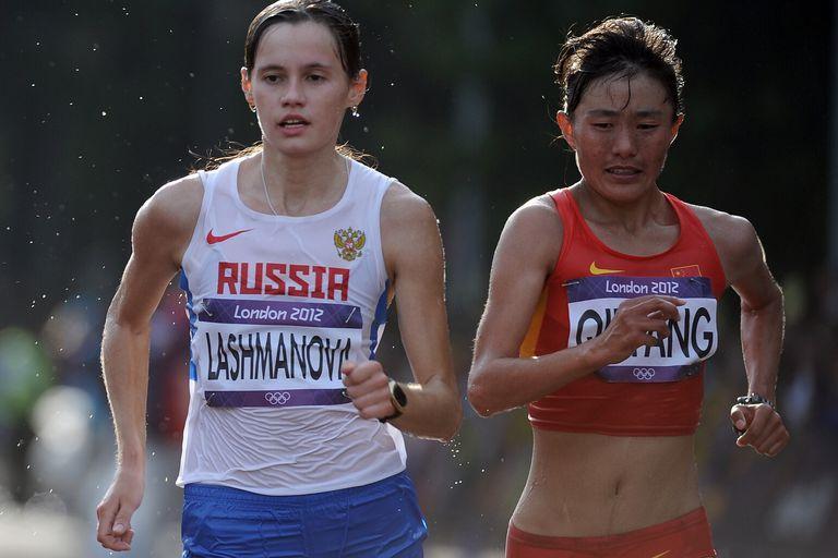 Elena Lashmanova Wins Olympic Gold and Sets World Record