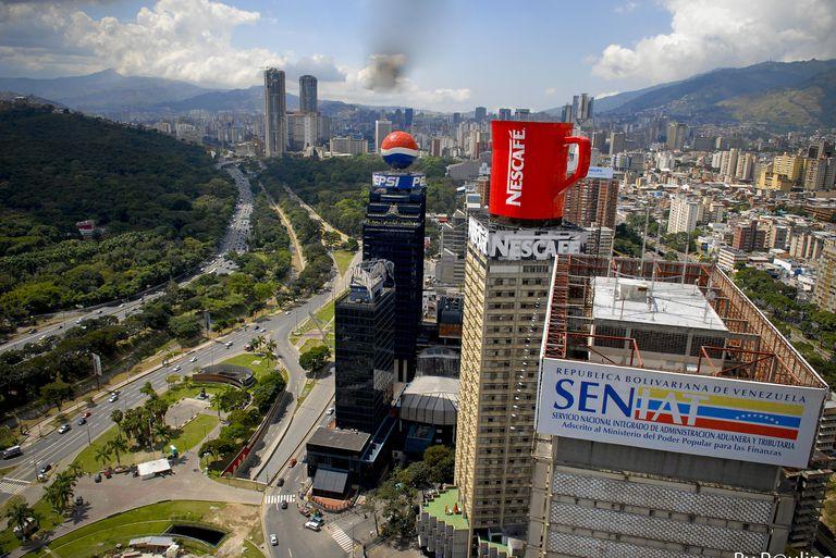 Nescafé in Caracas