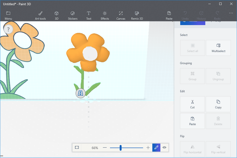 Line Art Converter Software : How to turn a 2d drawing into 3d art in paint