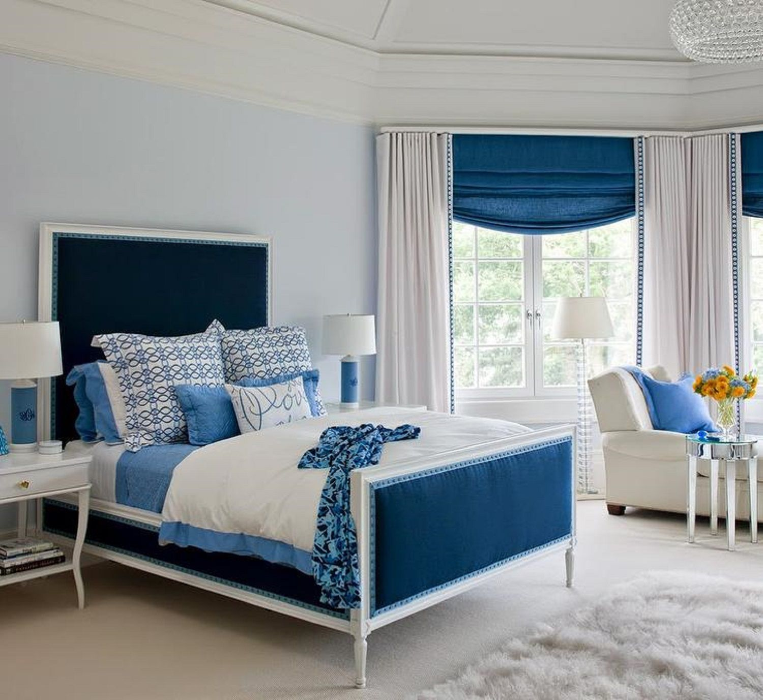 Interior Blue Bedroom 25 stunning blue bedroom ideas