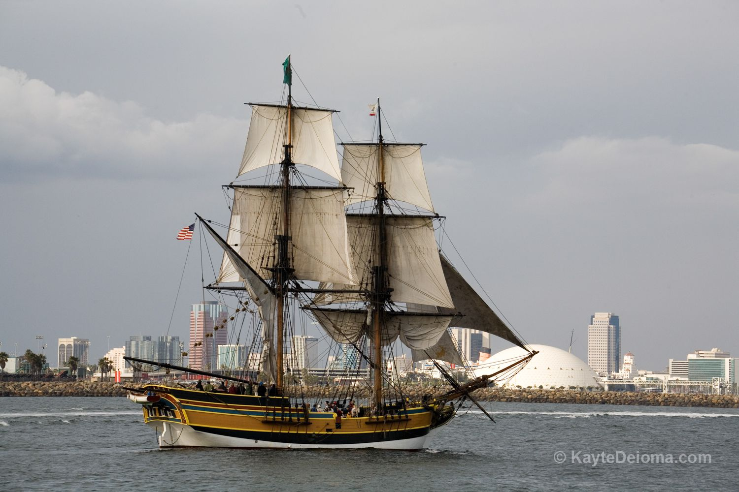 Tall Ship Battles In Long Beach And Los Angeles