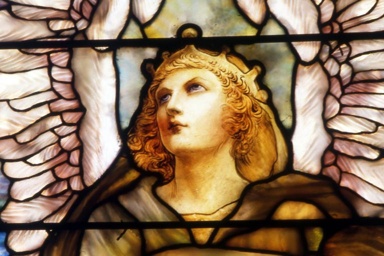 Stained Glass Gabriel