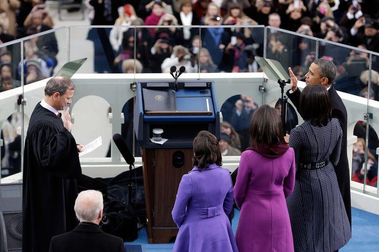 Obama Sworn In