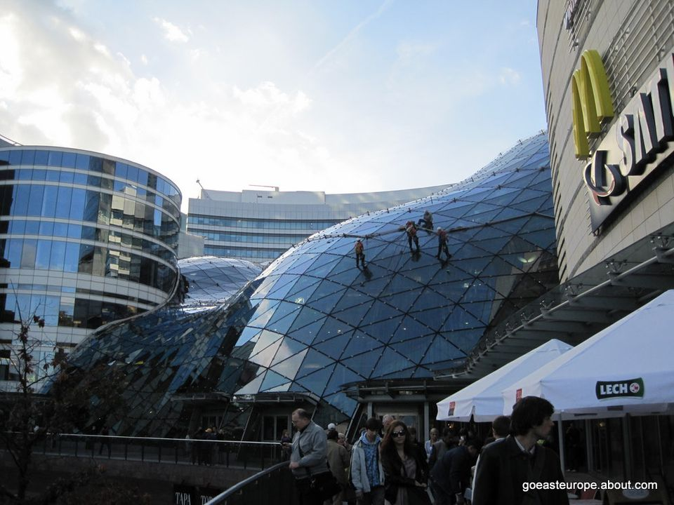 Golden Terraces Shopping Mall, Warsaw