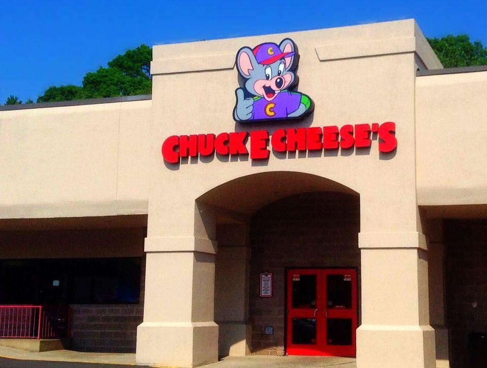 Chuck E Cheese's, an entertainment complex for kids.