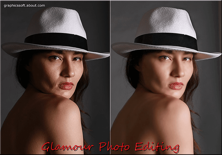 Glamour Photo Editing in Photoshop Elements