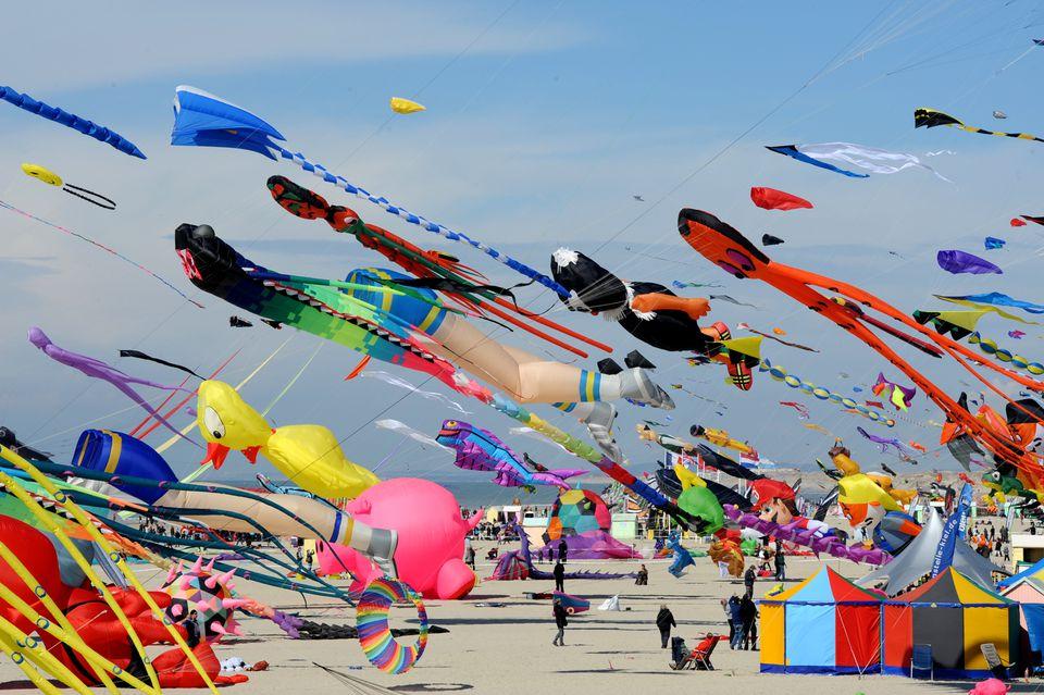 International Kite Festival at Berck-sur-Mer