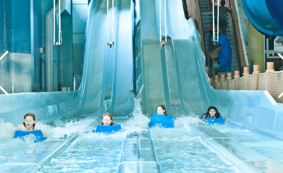 Avalanche Bay Michigan water park