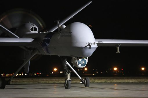 A Predator drone operated by U.S. Office of Air and Marine (OAM)