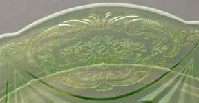 Depression glass patterns identification guide for Most valuable depression glass patterns