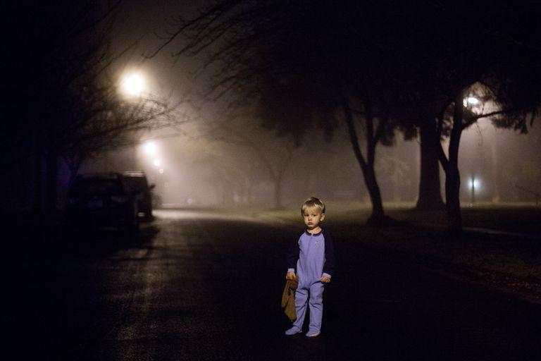 Sleepwalking toddler