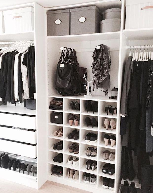 Bins in the Closet