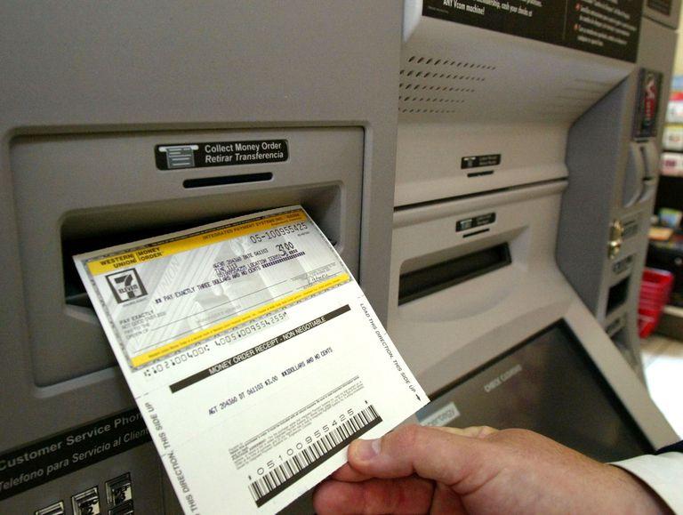 Money Order Printed