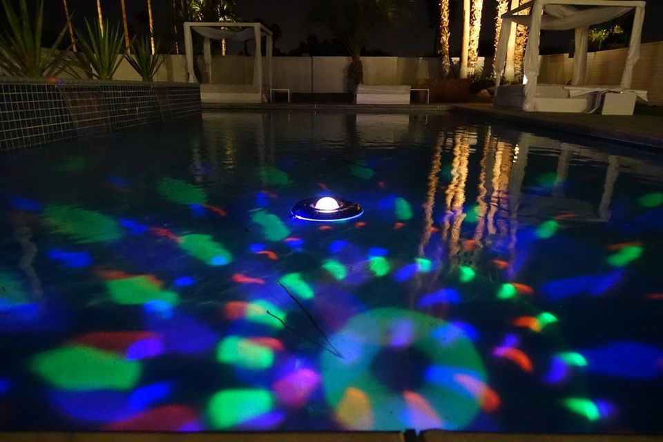 Pool Party Lights Fountains And Inflatables