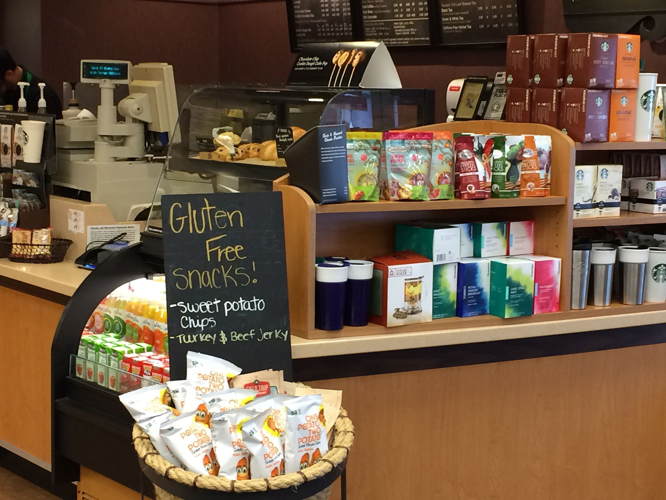 Starbucks Gluten-Free List