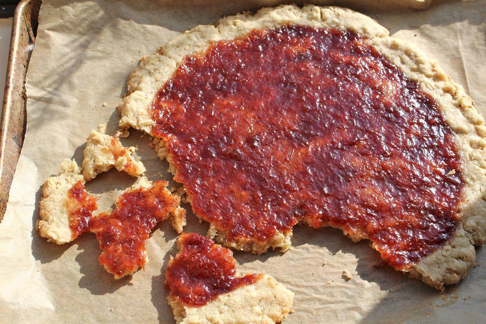 Giant Jam Thumbprint Cookie