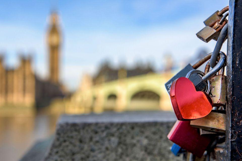 Love locks London