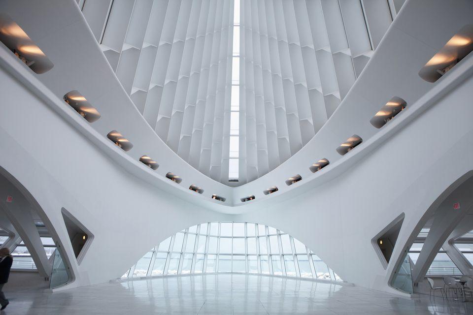 Milwaukee Art Museum,Milwaukee,Wisconsin,Usa