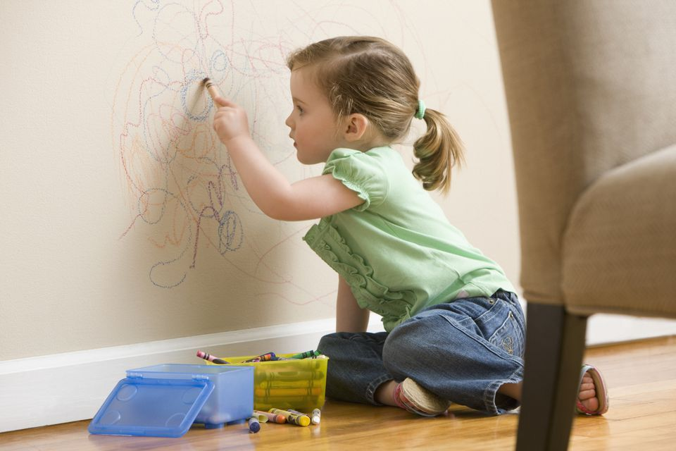 how to remove crayon stains from walls - How To Remove Stains From Walls