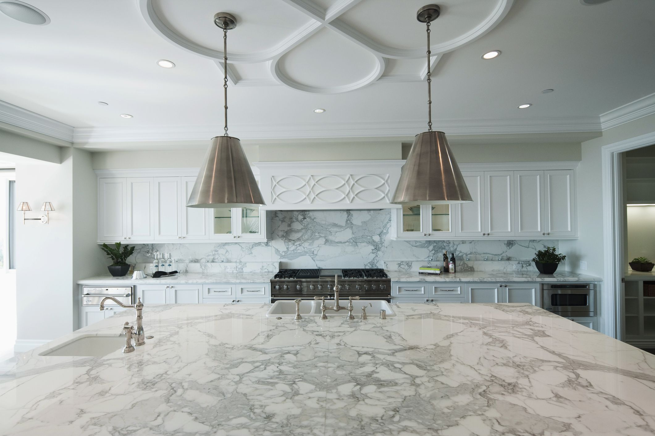 countertop types kitchen of material decorating ideas for idolza counters luxury