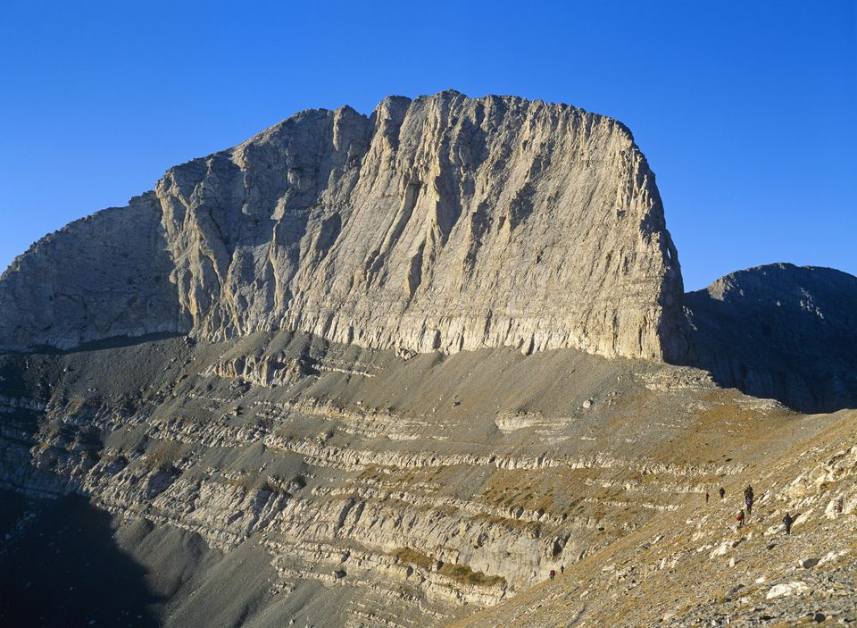 Mount Olympus in Greece.