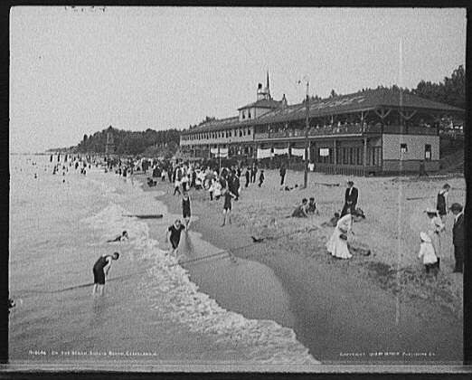 Euclid Beach Park, Euclid Ohio, circa 1905