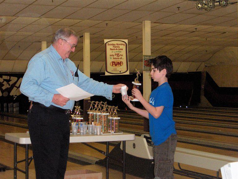 Autistic child wins trophy