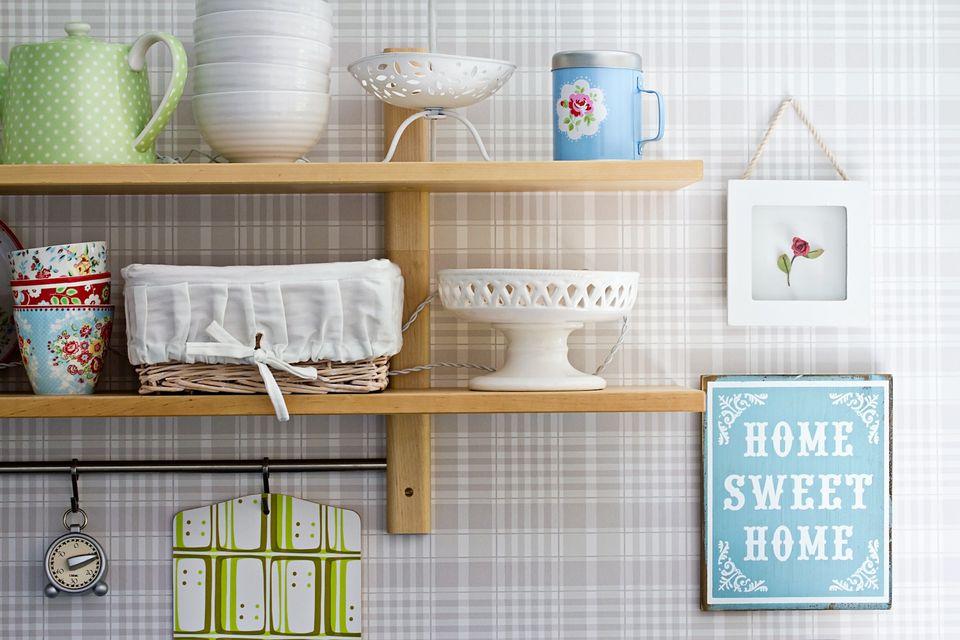 happy kitchen corner