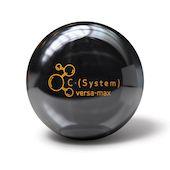 A Brunswick C·(System) Versa-Max bowling ball.