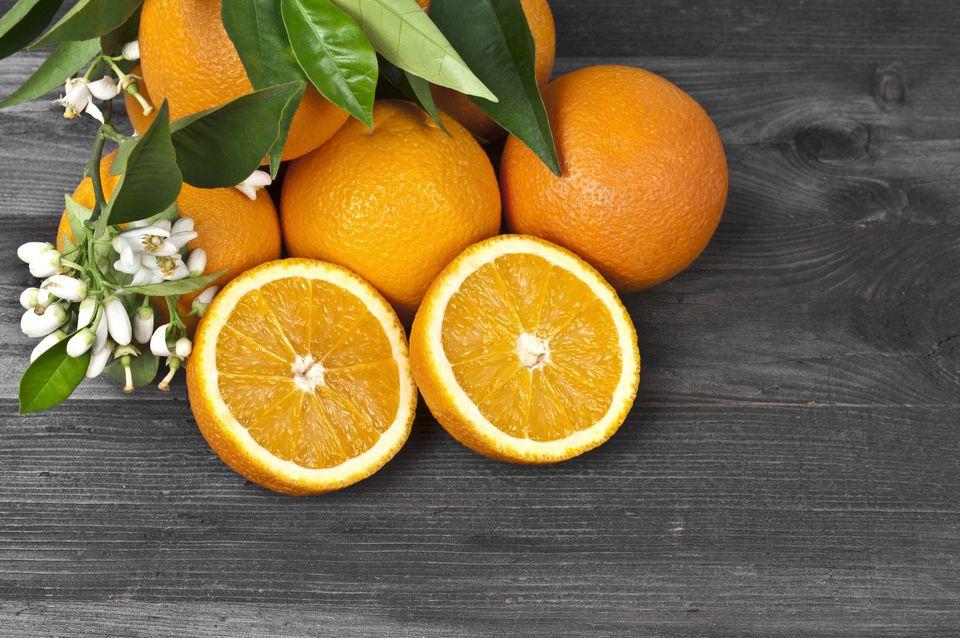 Oranges & Their Blossoms