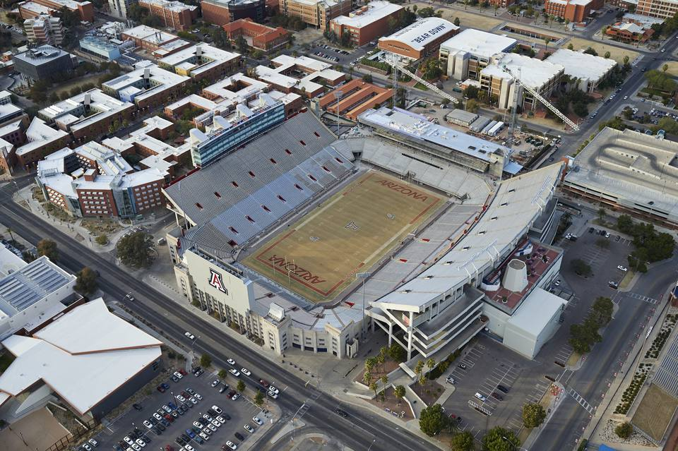 The Univeristy of Arizona - Arizona Stadium