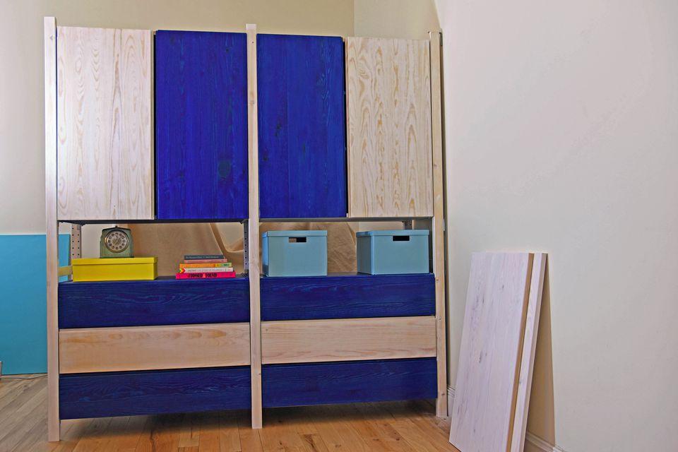 21 best ikea ivar storage hacks. Black Bedroom Furniture Sets. Home Design Ideas